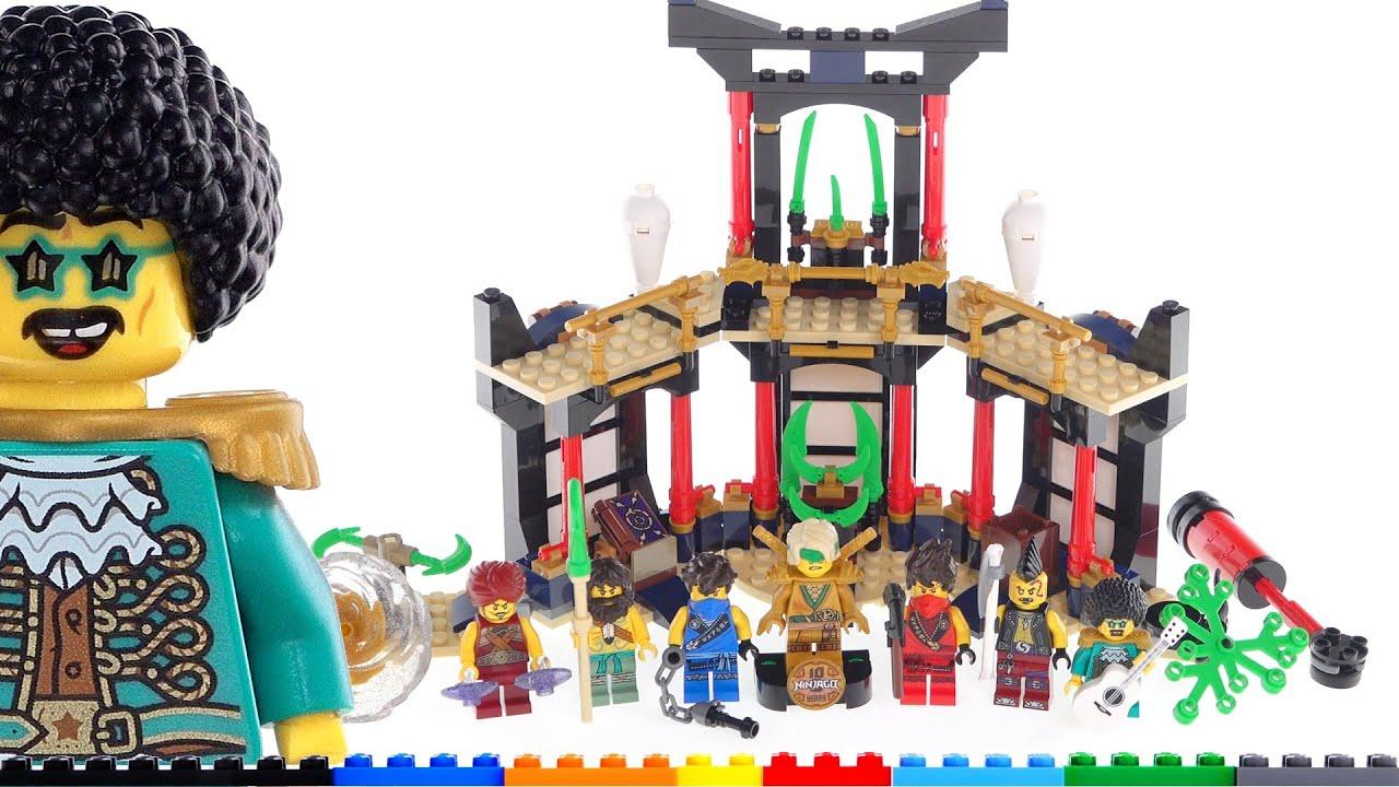 lego ninjago legacy tournament of elements 71735 review